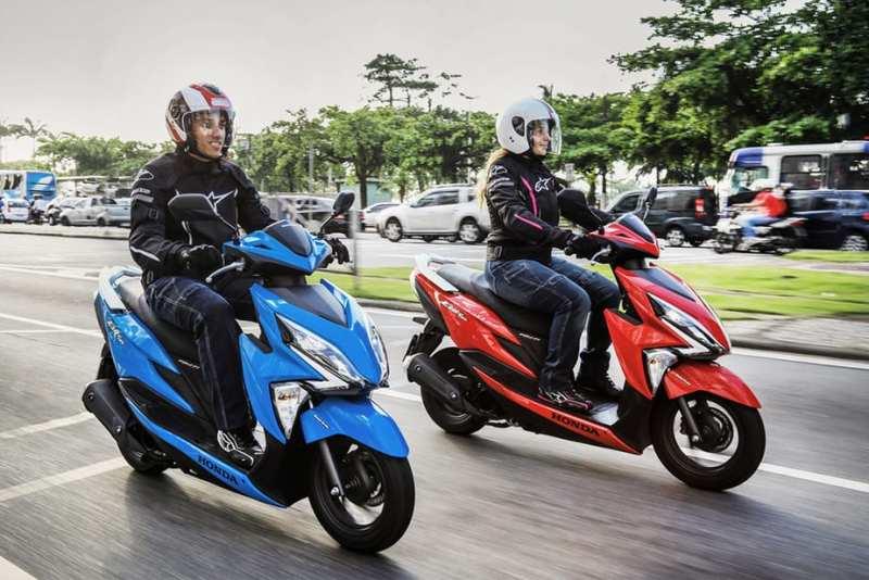 scooter mais vendidos do brasil 2021 elite