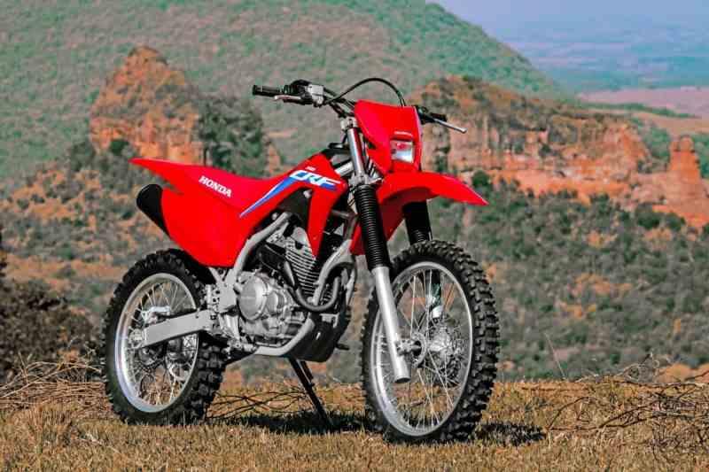 Moto de trilha da Honda
