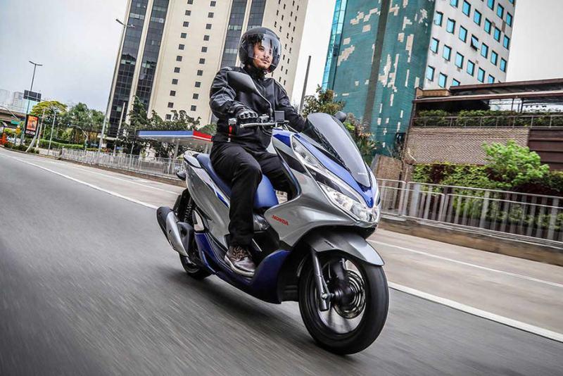 honda pcx scooter mais vendido