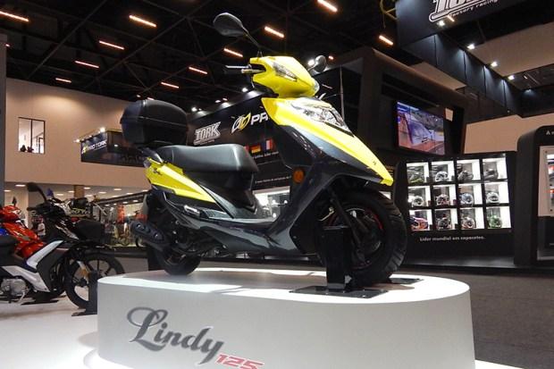 Lindy 125 é o scooter mais barato do brasil