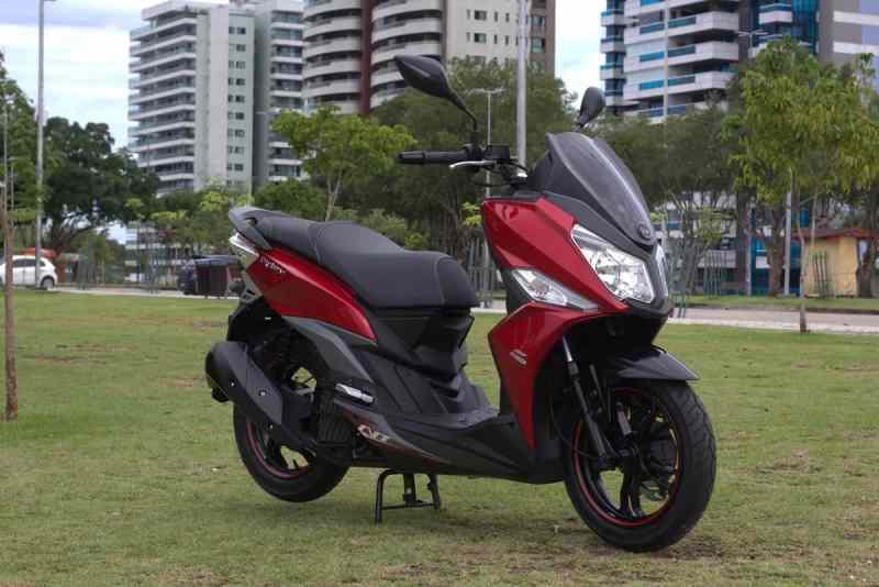 novo scooter dafra cruisym
