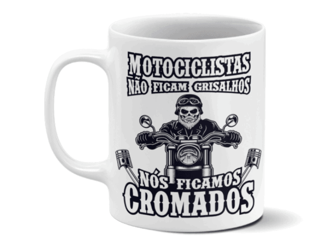 presente caneca motociclista dia dos pais