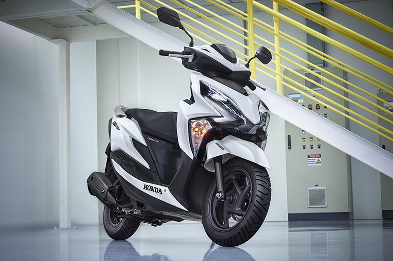 elite 125 é o scooter mais barato da honda