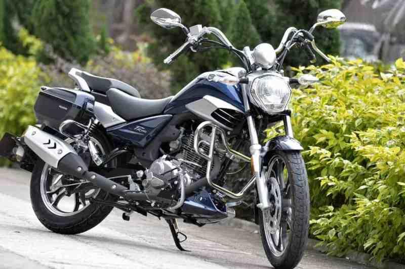 Master Ride 150 chega em setembro com preço de R$ 14 mil