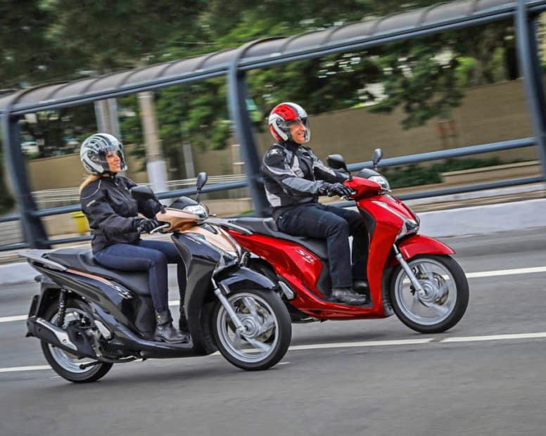 scooter mais baratos do brasil - sh 150i honda