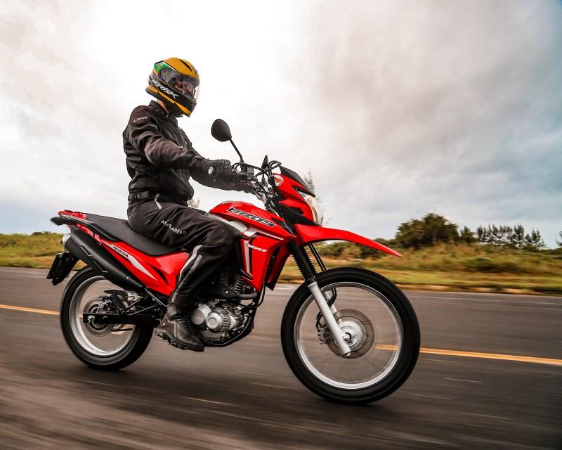 Honda bros 2022 - motor