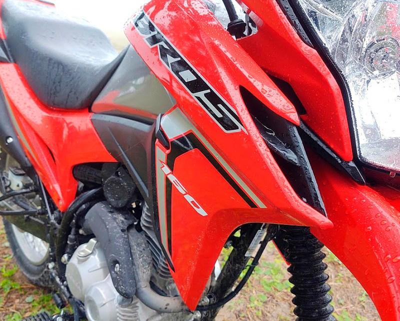 Honda bros 2022 - carenagens