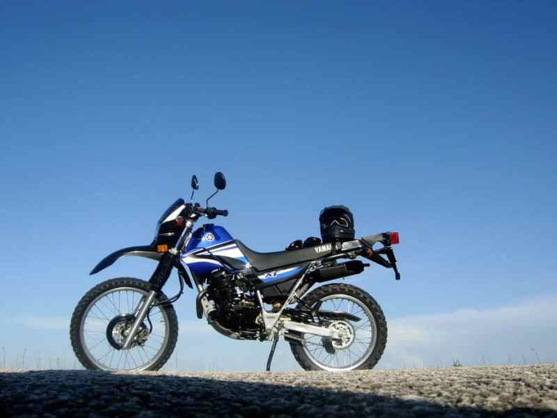 motos yamaha - xt 225