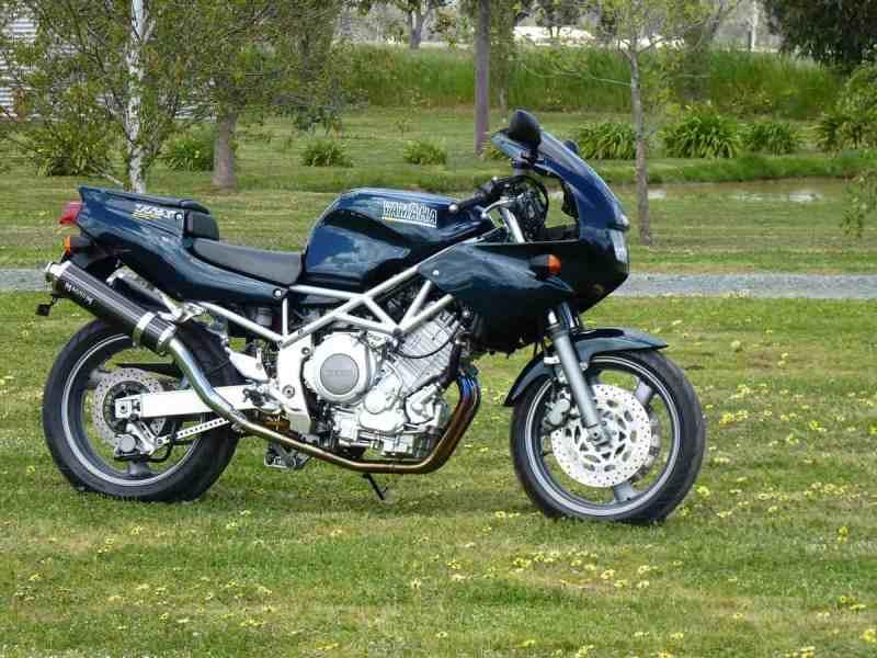 motos yamaha desconhecidas - trx 850
