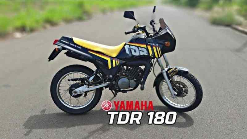 motos yamaha que não emplacaram - tdr 180