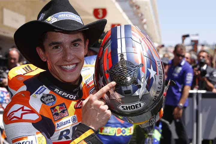 Marc Márquez, xerife da MotoGP