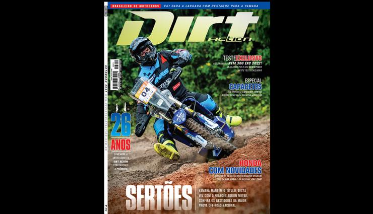Nova revista Dirt Action nas bancas! Especial 26 anos