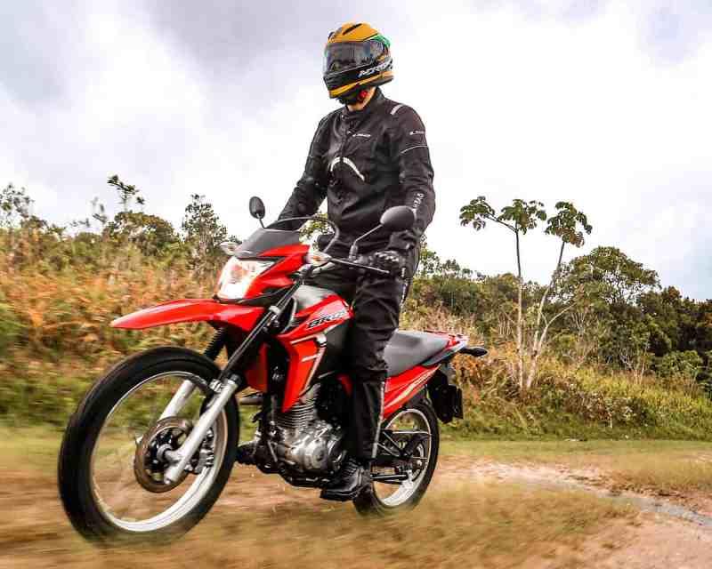 Honda bros 2022 suspensões