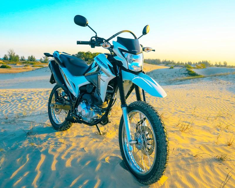 Honda bros 2022 - branca
