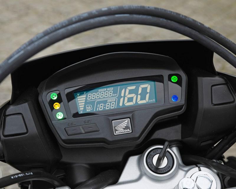 Honda bros 2022 - painel