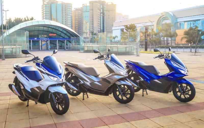 scooter mais vendido do Brasil é o pcx