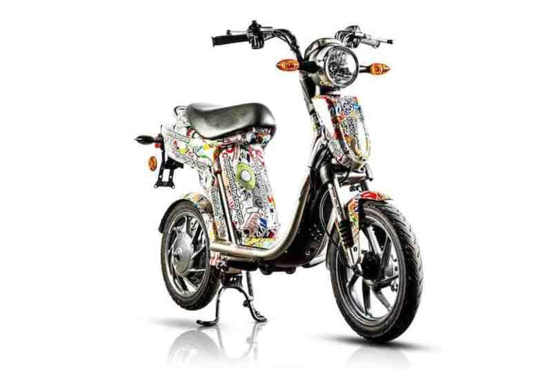 Yamaha EC 03 scooter