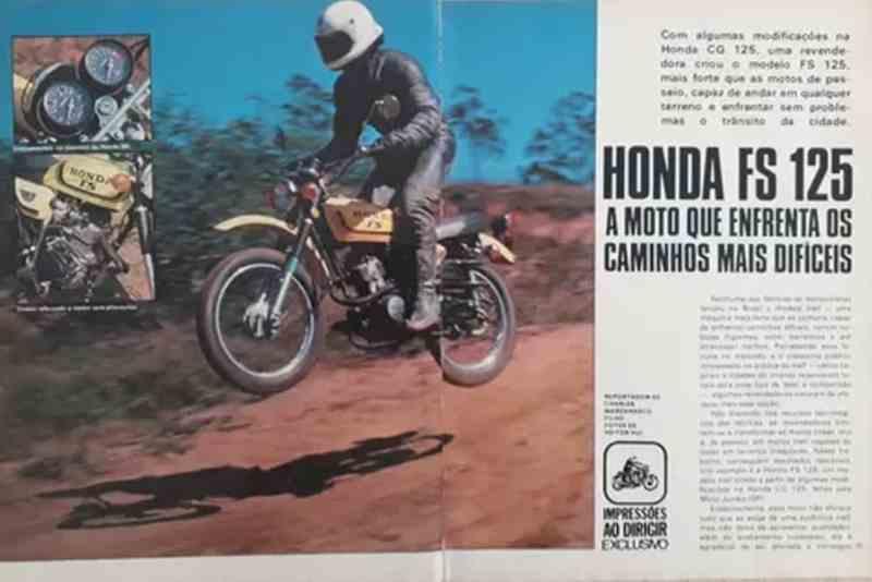 Honda FH 125 - antecessora da Bros 160