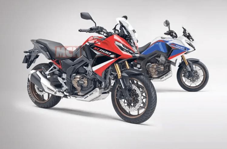 moto touring - montagem de como pode ser a nt 1100