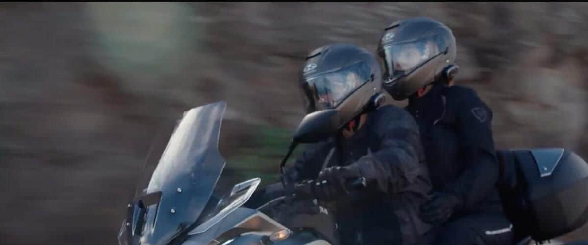 nova moto touring da honda