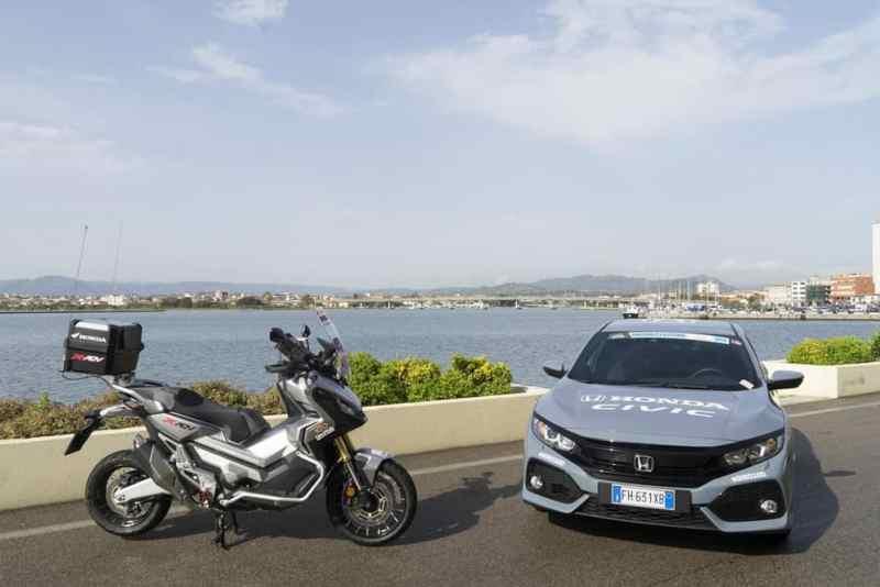 Honda carro e moto