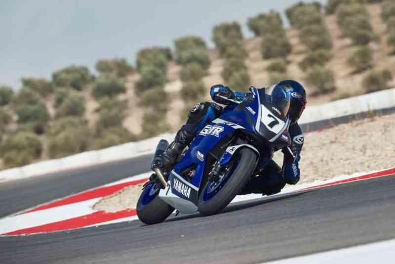 Yamaha R7 GYTR pista