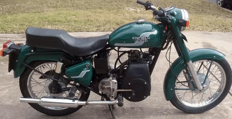 motos a diesel - royal enfield economica