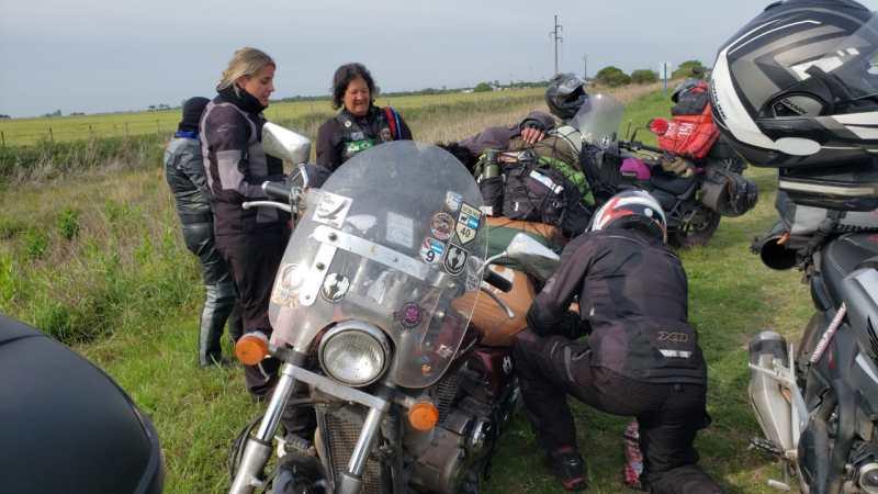 Expedição de moto